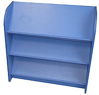 Стеллаж для книг наклонный. Мебель для школы. Мебель для детского сада