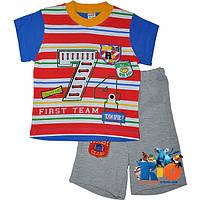 """Летний костюм  """"First Team"""" , для мальчиков от 1-2-3 лет"""