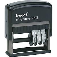 Trodat  4813 - Датер со свободным полем
