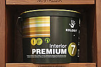 Водно-дисперсионная краска Kolorit Interion Premium 7(Dynasty) с противоплесневым компонентом, база А, 9л