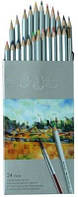 Карандаши цветные Marco Raffine 24 цвета 7120-24 СВ, акварельные
