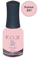 Лак Fox 12 мл. розовый