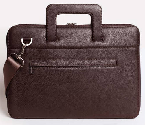 """Шикарная сумка для MacBook 13"""", натуральная кожа ISSA HARA B13 (12-00) brown"""