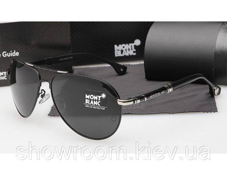 Солнцезащитные очки в стиле Montblanc (5512) black