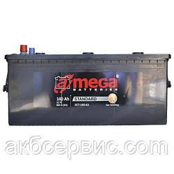 Акумулятор автомобільний A-mega 6СТ-140 Аз Standard