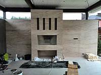 Стены в мраморе
