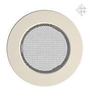 Вентиляционная решетка KRATKI круглая Ø100 кремовая