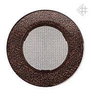Вентиляционная решетка KRATKI круглая Ø100 медная (крашенная)