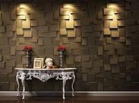 Гипсовые 3D панели для стен