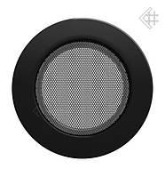 Вентиляционная решетка KRATKI круглая Ø125 черная
