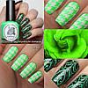 Краска для стемпинга El Corazon Kaleidoscope st-16 green neon