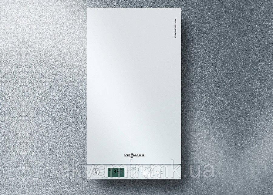 Газовый котел Viessmann Vitodens 100 W 35 кВт настенный конденсационный