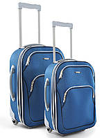 """Комплект чемоданов+2 сумки эконом класса фирмы """"MERCURY"""" syper blue 4в1 на 2-х колесах"""