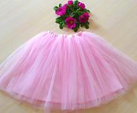 Модная юбка-пачка нежно-розовая