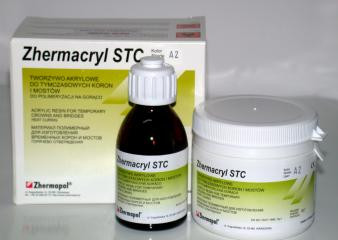 Акриловая пластмасса Villacryl STC Hot  Порошок 80 г, жидкость 40 мл.