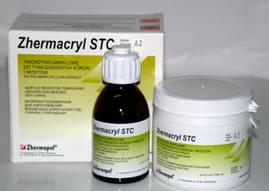 Акрилова пластмаса Villacryl STC Hot Порошок 80 г, рідина 40 мл.