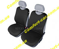 Чехлы майки на передние сиденья Kegel черные