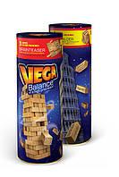 Danko VEGA Джанга Пизанская башня Вежа Настольная Развелкательная игра В тубусе