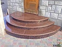 Ступеньки,плитка,слэбы, гранітні сходи,гранитные ступеньки