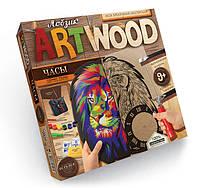 Danko Лобзик Art Wood Настенные часы (LBZ-01-01)