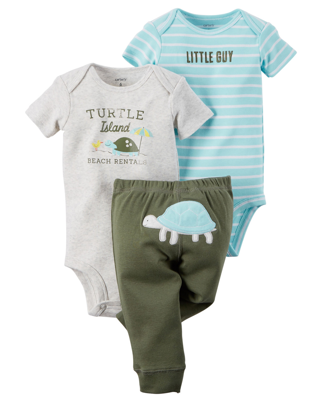 Трикотажный комплект одежды Картерс 3в1 для мальчика 6М - Интернет-магазин детской  одежды из Америки e964020aa04