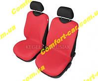 Чехлы майки на передние сиденья Kegel Красные