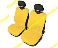 Чехлы майки на передние сиденья Kegel Желтые