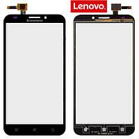 Сенсорный экран (touchscreen) для Lenovo A916, оригинал, черный