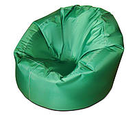 Зеленое большое кресло мешок из ткани Оксфорд