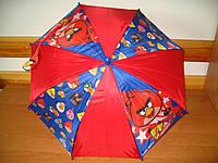 Зонтик детский Angry Birds для мальчиков