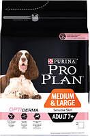 PURINA PRO PLAN MEDIUM LARGE ADULT 7+ Sensitive Skin 3 kg