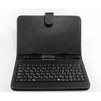 "Чехол клавиатура для  планшета 7"" black micro"