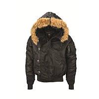 Куртка аляска N-2B Parka Alpha Industries (черная), фото 1