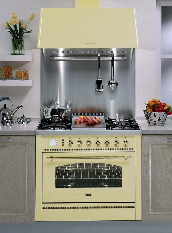 Кухонная плита в классическом стиле ILVE P-90N