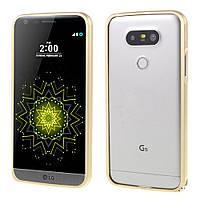 Чехол бампер Aluminium Hippocampal для LG G5 H850 золотой