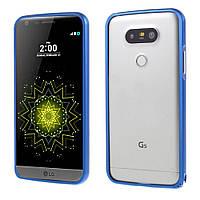 Чехол бампер Aluminium Hippocampal для LG G5 H850 синий