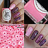 Краска для стемпинга El Corazon Kaleidoscope stm-04 pink