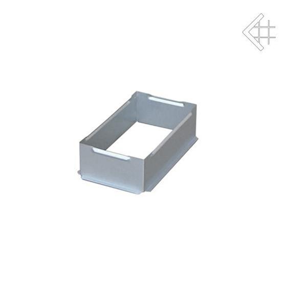 Коробка для вентиляционной каминной решетки KRATKI 11х17 см