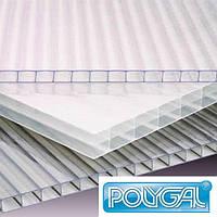 Сотовый поликарбонат 10 мм Polygal прозрачный