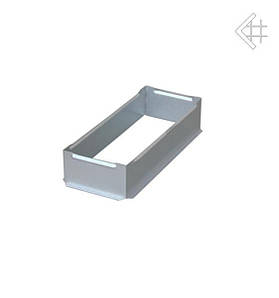 Коробка для вентиляционной каминной решетки KRATKI 11х24 см