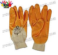 Перчатки нитриловые желтые (Intertool SP-0110)