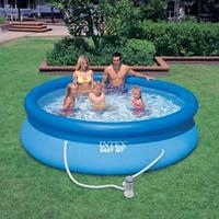 Бассейн надувной Intex Easy Set 28122 (56922) 305*76см +насос-фильтр