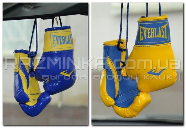 Брелок боксерские перчатки, боксёрские перчатки в машину, сувенир, брелок, брелоки