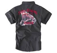 Thor Steinar рубашка с кор. рукавом Walvater серая все разм.