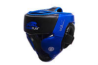 Боксерский шлем PowerPlay Platinum series (3031) Blue
