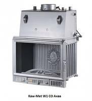 Каминная топка KAW-MET W1 CO, 14 кВт с водяным контуром