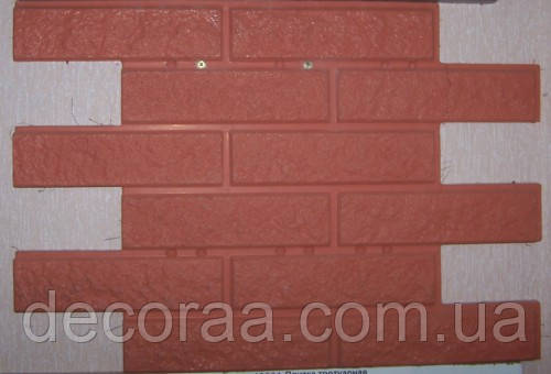 Полифасад, формы для утеплительных панелей Полифасад «Кирпич рваный» термопанелей глянцевые пластиковые
