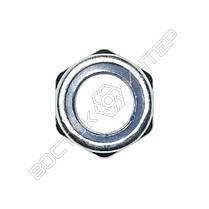 Гайка М18 DIN 985 самоконтрящаяся с нейлоновым кольцом, фото 2