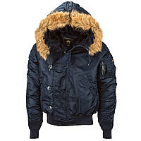 Оригинальная куртка парка N-2B Alpha Industries (синяя)