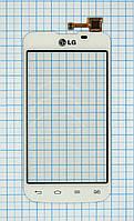 Тачскрин сенсорное стекло для LG E455 Optimus L5 II Dual white